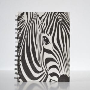 Animal print Notebook Zebra